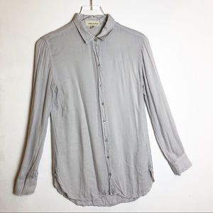 Anthropologie |Cloth & Stone Lightweight Button Up